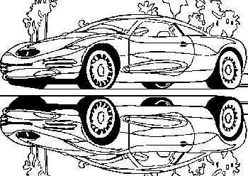 Kleurplaten Auto S