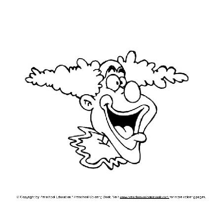 Kleurplaten Van Clowns.Kleurplaten Clowns