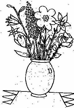 _index on Flower Coloring Pages