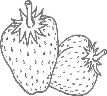 kleurplaten fruit en groente