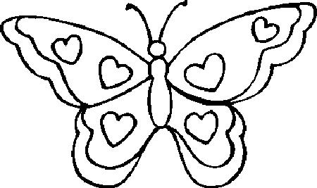 kleurplaten met vlinders
